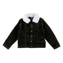 Jaqueta de 1 a 3 Anos Gola de Pelo Yoyo Kids