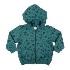 Jaqueta de 1 a 3 Anos Ícones Rovitex Kids Verde