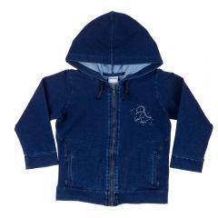 Jaqueta de 1 a 3 Anos Jeans Dino Yoyo Kids Azul