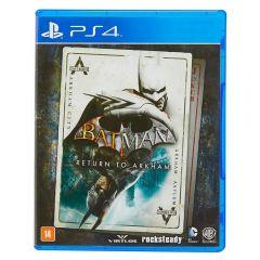 Jogo Batman: Return To Arkham Playstation 4 - Ação