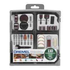 Kit Acessórios para Micro Retífica 110 peças Dremel - 26150709AD