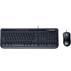 Kit Mouse E Teclado Wired Desktop 600 Microsoft - Preto