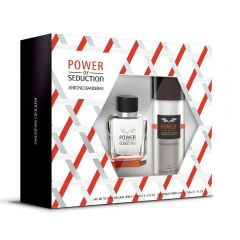Kit Power Of Seduction 100Ml + Deo Spray 150Ml Antônio Banderas - Diversos
