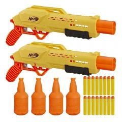 Lançador Nerf Alpha Strike Tiger Com Alvo Hasbro - E8313