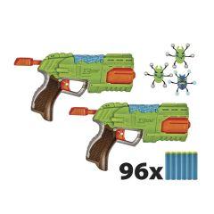 Lançador de Dardos Bug Attack 2x Rapid Fire 5559 Candide - Verde