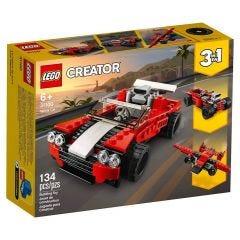 Lego Carro Esportivo Creator 134 Peças - 31100