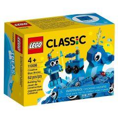 Lego Classic Peças Azuis Criativas 52 Peças - 11006