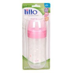 Mamadeira Super Evolution Silicone 300ml Lillo - Rosa