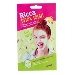 Máscara Facial Detox Total Ricca - Verde