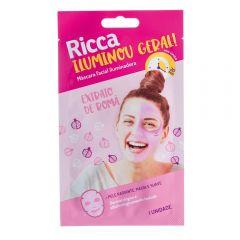 Máscara Facial Iluminadora Ricca - Rosa