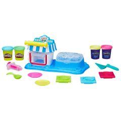 Massinha Play-Doh Sobremesas Duplas Hasbro - Amarelo