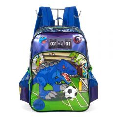 Mochila De Costas Infantil Dino Luxcel Up4you - IS35451UPHV