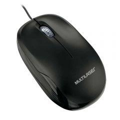 Mouse Box com Fio USB MO255 Multilaser - Preto
