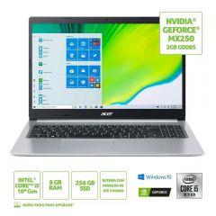 "Notebook Aspire 5 I5/8Gb/256Ssd/Win10 15,6"" Acer - Bivolt"