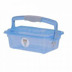 Organizador Infantil Com Alça 10 Litros Yoyo Baby - Azul Claro