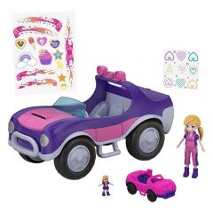 Polly Pocket Veículo Secreto Fwy26 Mattel - Roxo