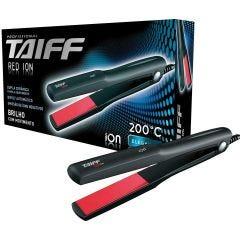 Prancha para Cabelos com Emissão de ION Taiff Red - Bivolt