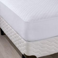 Protetor De Colchão Solteiro Com Elástico Slip - Branco