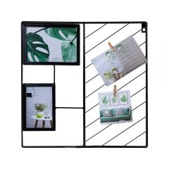 Quadro Decorativo Para Fotos 3,5X40cm Yaris - Preto