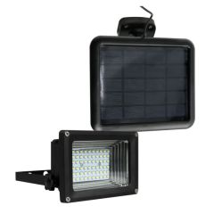 Refletor Solar 60 LEDs Ecoforce - Preto