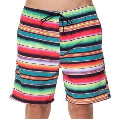 Shorts com Bolso Nicoboco Listrado