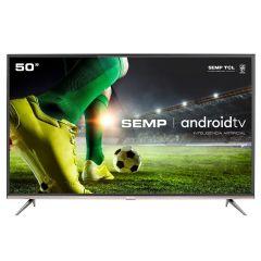 "Smart Tv Led 50"" 4K Android Sk8300 Semp - Bivolt"