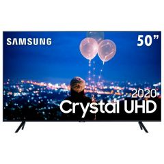 "Smart Tv Led 50"" 4K Crystal Uhd Samsung Tu8000 - Bivolt"