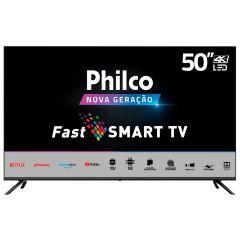 """Smart Tv Led 50"""" 4K Ptv50g70sblsg Philco - Bivolt"""
