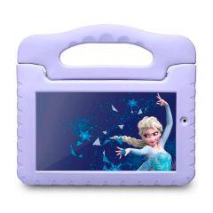 "Tablet Kids Plus Frozen Tela 7"" Com Wi-Fi Multilaser - Lilás"
