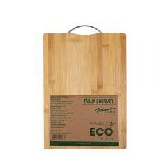 Tábua Gourmet Ecokitchen 36X26cm Mimo - Bambu