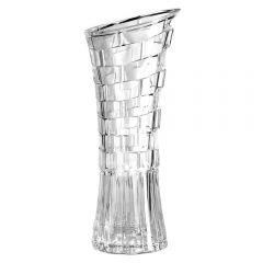 Vaso De Vidro Decorativo 12X29cm Yaris - Daisy