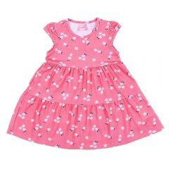 Vestido 1 a 3 Anos Cotton Floral Yoyo Kids Estampado