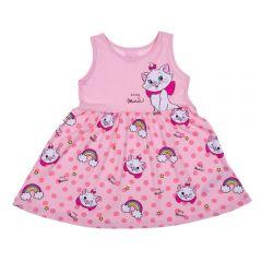 Vestido 1 a 3 Anos Gatinha Marie Disney Angel