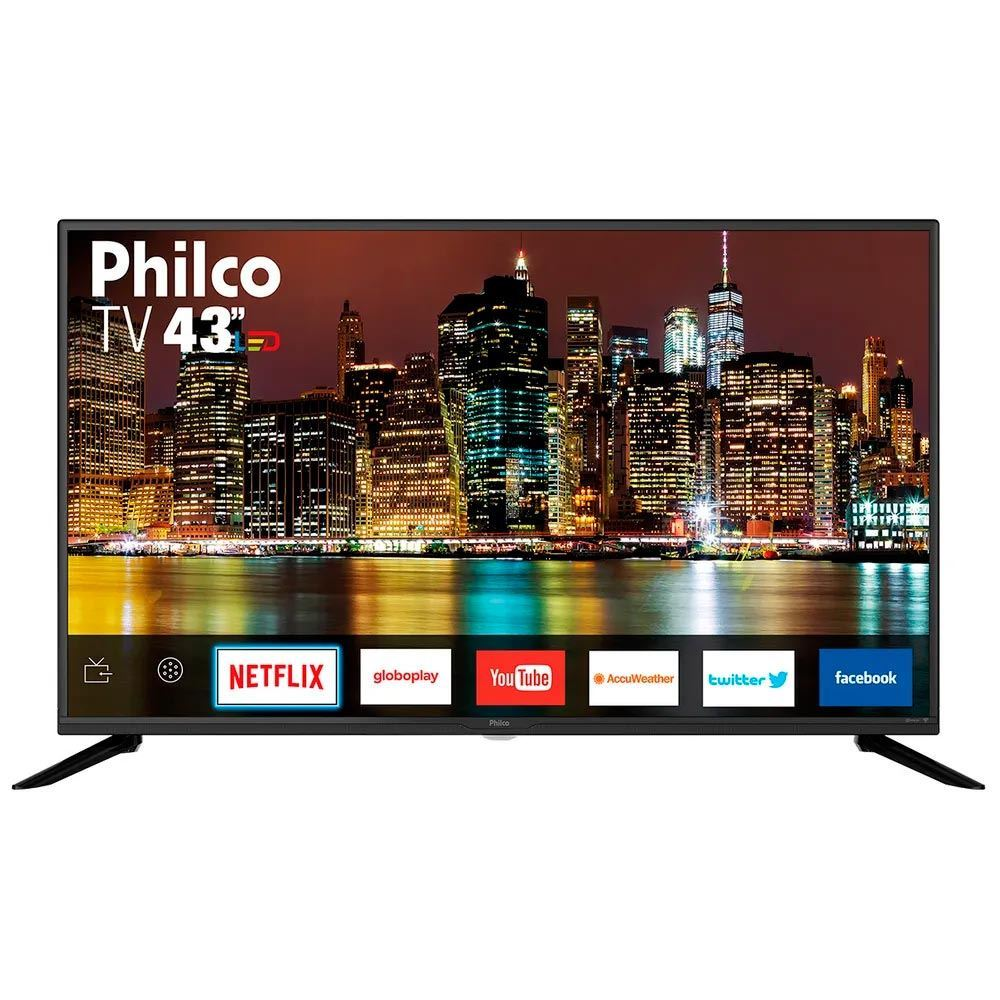 "Tv 43"" Led Philco Full Hd Smart - Ptv43g50sn"